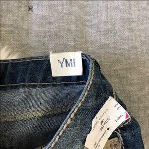 YMI Shorts - NWT YMI American flag Americana raw hem shorts sz7